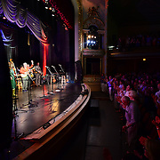 Steve Martin and the Steep Canyon Rangers featuring Edie Brickell perform at The Music Hall in Portsmouth, NH. June, 2014