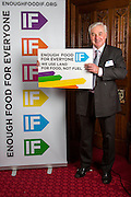 Mervyn Lee, executive dorector of Mercy Corps. supporting the Enough Food for Everyone?IF campaign. .MP's and Peers attended the parliamentary launch of the IF campaign in the State Rooms of Speakers House, Palace of Westminster. London, UK.