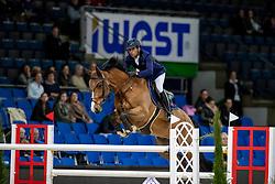 Fernandez Saro Manuel, ESP, Pampero<br /> Stuttgart - German Masters 2018<br /> © Hippo Foto - Stefan Lafrentz