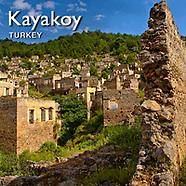 Kayaköy (Karakoy) Ghost Village Pictures, Images & Photos, Turkey