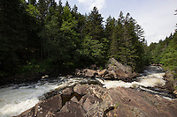 Falls In The Connecticut River Below Second Connecticut Lake, Pittsburg, NH