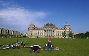 Berlin, the parliament Hous. das Reichstag