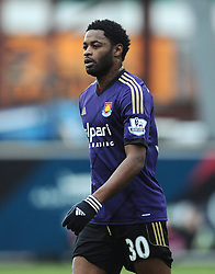 West Ham's Alexandre Song  - Photo mandatory by-line: Joe Meredith/JMP - Mobile: 07966 386802 - 25/01/2015 - SPORT - Football - Bristol - Ashton Gate - Bristol City v West Ham United - FA Cup Fourth Round