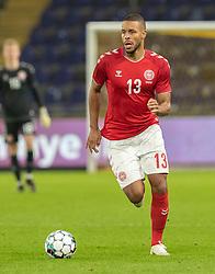 "Mathias ""Zanka"" Jørgensen (Danmark) under venskabskampen mellem Danmark og Sverige den 11. november 2020 på Brøndby Stadion (Foto: Claus Birch)."
