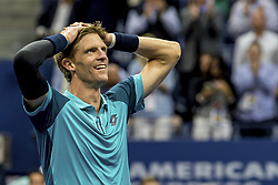 September 8, 2017 - New York, New York, USA - SEP 08, 2017: Kevin Anderson (RSA) during the 2017 U.S. Open Tennis Championships at the USTA Billie Jean King National Tennis Center in Flushing, Queens, New York, USA. (Credit Image: © David Lobel/EQ Images via ZUMA Press)