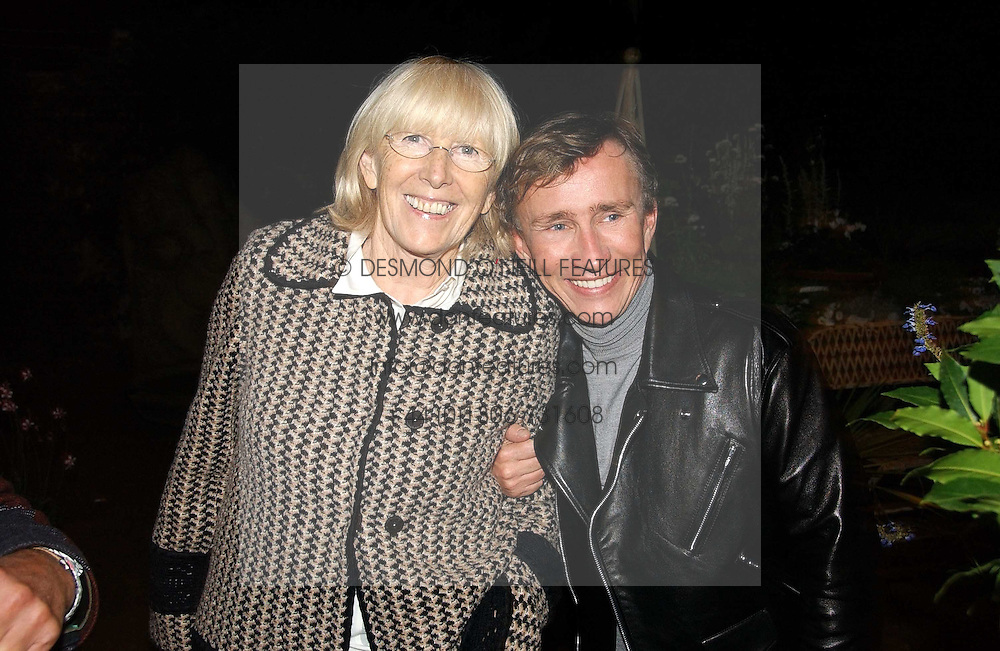 ROSE GRAY and JASPER CONRAN at a party to celebrate the publication on 'A Year in My Kitchen' by Skye Gyngell held at The Petersham Nurseries, Petesham, Surrey on 19th October 2006.<br /><br />NON EXCLUSIVE - WORLD RIGHTS
