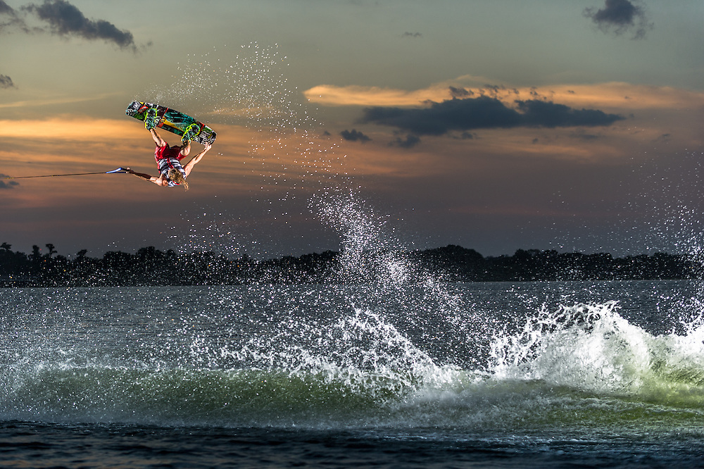 Jimmy Lariche shot for Monster Energy on Clear Lake in Orlando, Florida.