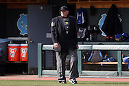 13 February 2015: Home plate umpire John Haggerty. The University of North Carolina Tar Heels played the Seton Hall University Pirates in an NCAA Division I Men's baseball game at Boshamer Stadium in Chapel Hill, North Carolina. UNC won the game 7-1.