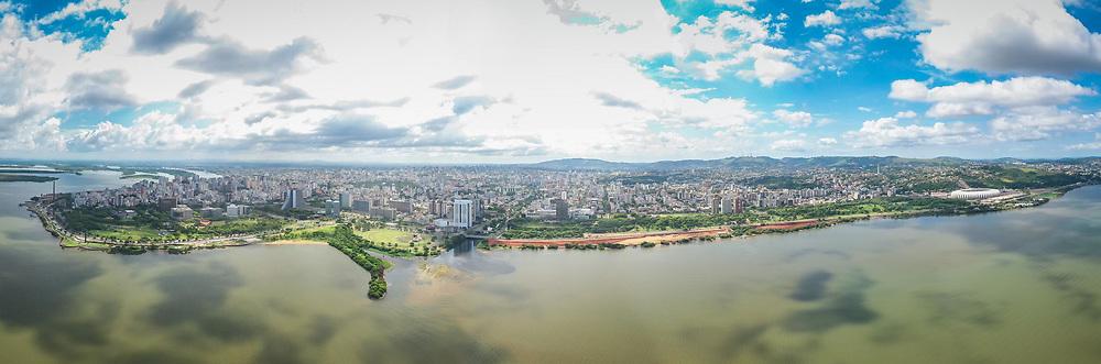 Porto Alegre, RS - 19/02/2020:  Orla do Guaíba Trecho 1, Trecho 2 e Trecho 3. Foto: Jefferson Bernardes/PMPA