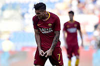 Dejection Lorenzo Pellegrini Roma<br /> Roma 20-10-2018 Stadio Olimpico<br /> Football Calcio Campionato Serie A<br /> 2018/2019 <br /> Roma - Spal<br /> Foto Antonietta Baldassarre / Insidefoto