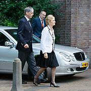 NLD/Laren/20110711 - Uitvaart Jaap Blokker, Els Blokker