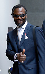 © Licensed to London News Pictures. File picture dated 22/11/2011. Levi Roots arriving at The Royal Courts Of Justice where Roots has won a battle with former friend, chef Tony Bailey,  over claims the musician didn't invent the coveted recipe for Reggae Reggae Sauce. Photo credit: Ben Cawthra/LNP