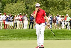 26.06.2015, Golfclub München Eichenried, Muenchen, GER, BMW International Golf Open, Tag 2, im Bild enttaeuschung bei Bernd Wiesberger (AUT) auf dem Green // during day two of the BMW International Golf Open at the Golfclub München Eichenried in Muenchen, Germany on 2015/06/26. EXPA Pictures © 2015, PhotoCredit: EXPA/ Eibner-Pressefoto/ Kolbert<br /> <br /> *****ATTENTION - OUT of GER*****