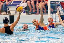 Bente Rogge #7 of Netherlands in action during the friendly match Netherlands vs USA on February 19, 2020 in Amerena Amersfoort.