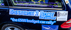 Rust 2 Rome Car Rally | South Queensferry | 2 July 2017