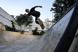 ATHENS, June 22, 2018  A man rides skateboard in an open skate park in central Athens, Greece, on June 21, 2018. Skateboarders around the world celebrate the International Go Skateboarding Day annually on June 21.  zxj) (Credit Image: © Lefteris Partsalis/Xinhua via ZUMA Wire)