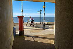 Cyclist Aberystwyth Wales