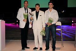 14-12-2009 ALGEMEEN: TOPSPORT GALA AMSTERDAM: AMSTERDAM<br /> Coach van het jaar Martin Truijens (m) en Rolf Schulte en Robbert Paul Aalbregt <br /> ©2009-WWW.FOTOHOOGENDOORN.NL