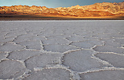 Badwater Basin at Death Valley National Park California