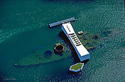 Arizona Memorial, Pearl Harbor, Honolulu, Oahu, Hawaii, USA