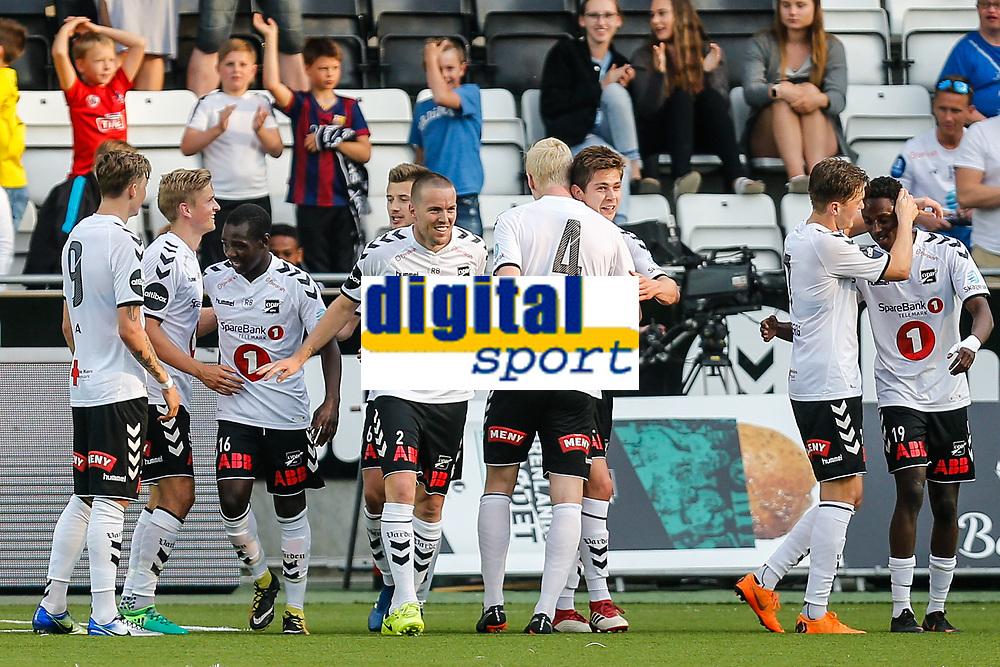 Fotball , 16. mai 2018 , Eliteserien<br /> Odd - Sandefjord<br /> Torgeir Børven, Odd<br /> 5-0<br /> Foto: Christoffer Hansen , Digitalsport