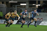 Cardiff Blues v Australia at the Cardiff City Stadium on Tuesday 24th Nov 2009. pic by Andrew Orchard, Andrew Orchard sports photography
