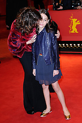 Dafne Keen and guest attending the Logan Premiere during the 67th Berlin International Film Festival (Berlinale) in Berlin, Germany on Februay 17, 2017. Photo by Aurore Marechal/ABACAPRESS.COM