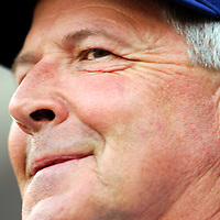 30 May 2007:  Los Angeles Dodgers manager Grady Little watches his team in action against the Washington Nationals.  The Dodgers defeated the Nationals 5-0 at RFK Stadium in Washington, D.C.  ****For Editorial Use Only****
