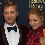 NLD/Amsterdam/20151015 - Televizier gala 2015, Jan Versteegh en Geraldine Kemper