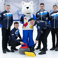 Curling Champsionships Photocall