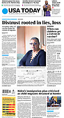 March 17, 2021 (USA): Front-page: Today's Newspapers In United States
