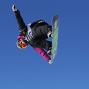 Kwang-Soo Park, Korea, in action during the Men's Snowboard Slopestyle competition at Snow Park, New Zealand during the Winter Games. Wanaka, New Zealand, 21st August 2011. Photo Tim Clayton