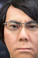 Roboten Geminoid HI-5. Osaka University, Japan<br /> <br /> The robot Geminoid HI-5. Osaka University, Japan<br /> <br /> Fotograf: Christina Sjögren<br /> Copyright 2018, All Rights Reserved