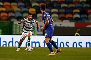 Tabata in action during the Liga NOS match between Sporting Lisbon and Belenenses SAD at Estadio Jose Alvalade, Lisbon, Portugal on 21 April 2021.