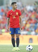 Spain's Thiago Alcantara during international friendly match. June 7,2016.(ALTERPHOTOS/Acero)