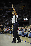 NBA referee Violet Palmer...The Miami Heat lost to the host Cleveland Cavaliers 84-76 at Quicken Loans Arena, April 13, 2008..