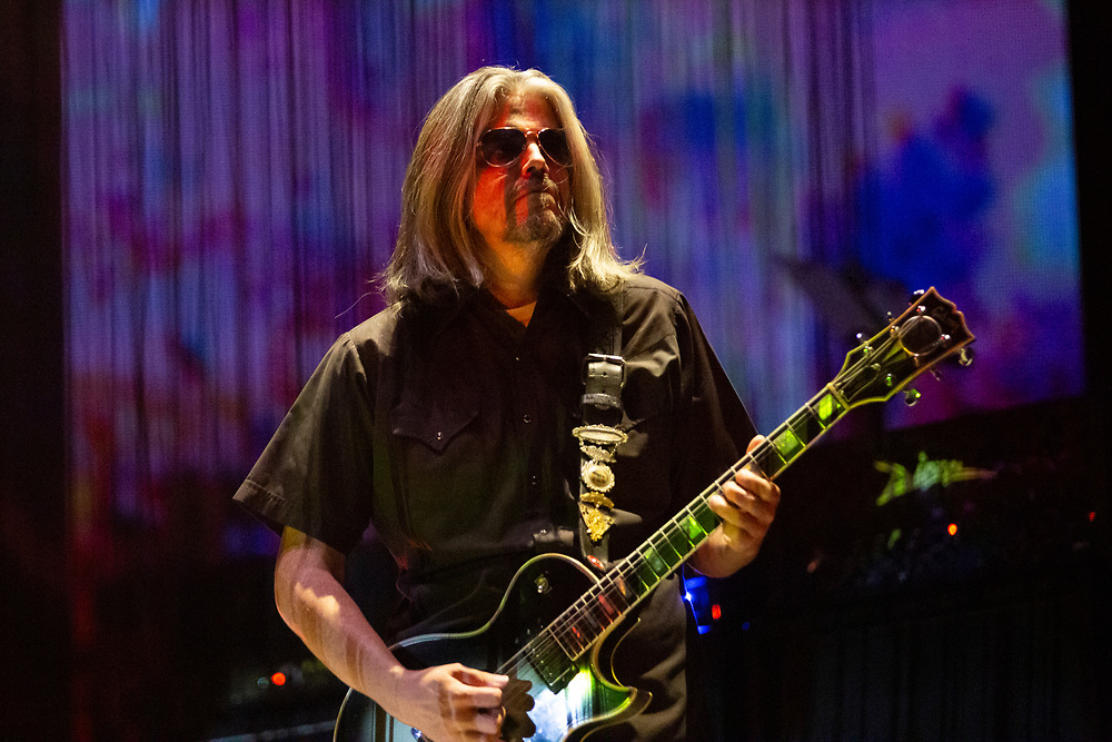Tool performing at the Fiserv Forum in Milwaukee, WI on October 31, 2019.