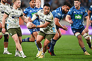 Ash Dixon.<br /> Blues v Highlanders, Sky Super Rugby Trans-Tasman Final. Eden Park, Auckland. New Zealand. Saturday 19 June 2021. © Copyright Photo: Andrew Cornaga / www.photosport.nz