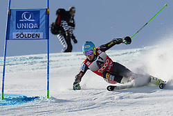 27.10.2013, Rettenbach Ferner, Soelden, AUT, FIS Weltcup, Ski Alpin, Riesenslalom, Herren, 1. Durchgang, im Bild Ted Ligety from The USA // Ted Ligety from The USA in action during 1st run of mens Giant Slalom of the FIS Ski Alpine Worldcup opening at the Rettenbachferner in Soelden, Austria on 2012/10/27. EXPA Pictures © 2013, PhotoCredit: EXPA/ Mitchell Gunn<br /> <br /> *****ATTENTION - OUT of GBR*****