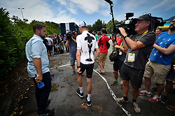 July 16, 2018 - Annecy, FRANCE - British Chris Froome of Team Sky pictured during the first rest day in the 105th edition of the Tour de France cycling race, in Annecy, France, Monday 16 July 2018. This year's Tour de France takes place from July 7th to July 29th. BELGA PHOTO DAVID STOCKMAN (Credit Image: © David Stockman/Belga via ZUMA Press)