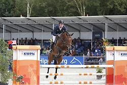 128 - First Verdi - Van Den Oetelaar Tim<br /> 4 Jarige Finale Springen<br /> KWPN Paardendagen - Ermelo 2014<br /> © Dirk Caremans