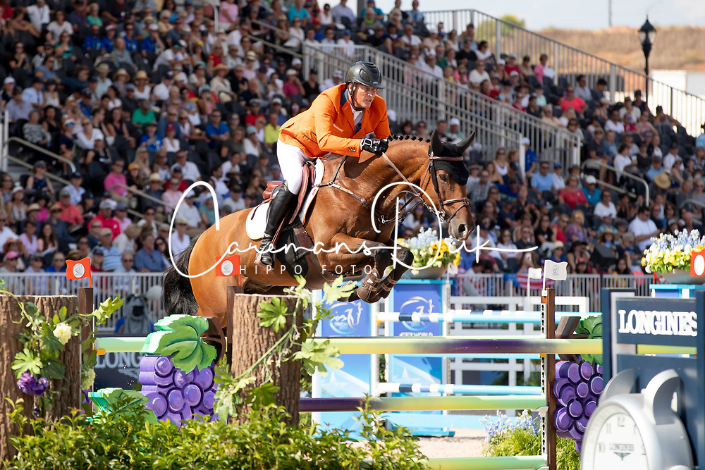Houtzager Marc, NED, Sterrehofs Calimero<br /> World Equestrian Games - Tryon 2018<br /> © Hippo Foto - Dirk Caremans<br /> 21/09/2018