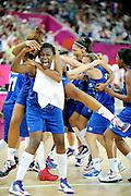 DESCRIZIONE : Basketball Jeux Olympiques Londres Demi finale<br /> GIOCATORE : Gruda Sandrine Digbeu Jennifer<br /> SQUADRA : France  FEMME<br /> EVENTO : Jeux Olympiques<br /> GARA : France Russie<br /> DATA : 09 08 2012<br /> CATEGORIA : Basketball Jeux Olympiques<br /> SPORT : Basketball<br /> AUTORE : JF Molliere <br /> Galleria : France JEUX OLYMPIQUES 2012 Action<br /> Fotonotizia : Jeux Olympiques Londres demi Finale Greenwich Northwest Arena<br /> Predefinita :