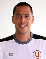 Football - Peruvian League Descentralizado - <br /> Movistar Trophy 2016 - Abertura Tournament / <br /> Club Universitario De Deportes Lima - <br /> Braynner García
