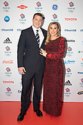 British former bobsledder and track athlete Bruce Tasker and wife at Team GB's annual ball at Old Billingsgate on the 21st November 2019 in London in the United Kingdom.
