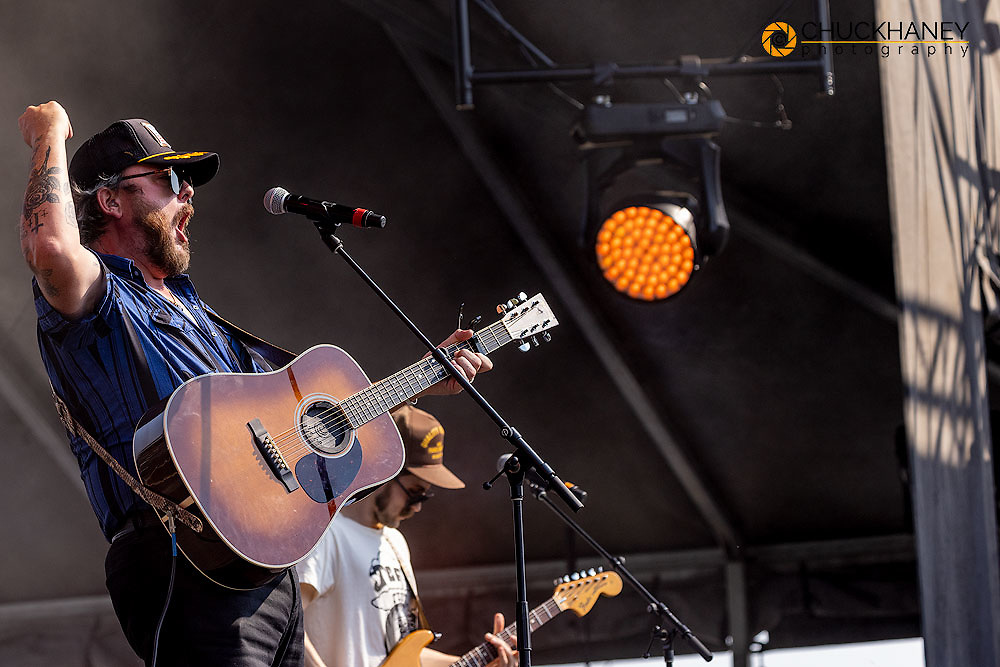 Paul Cauthen performs at the Under The Big Sky Music Festival in Whitefish, Montana, USA