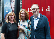 """Una Carmody, Ailbhe McCrann and Loughlin Deegan at the World Premiere of the """"Luck Just Kissed you Hello""""by Amy Conroy in the Mick Lally theatre (Druid) on the opening night of Galway international Arts Festival. Photo:andrew Downes xposure"""