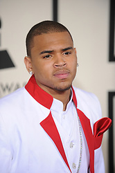 File photo - Chris Brown attends the 50th Annual Grammy Awards held at the Staples Center. Los Angeles, february 10, 2008. (Pictured: Chris Brown). US singer Chris Brown was arrested in Paris yesterday morning January 21, 2019, with two other people on suspicion of rape, a French police source said. Three men had been detained after a 24-year-old woman alleged she was raped at Brown's hotel suite on the night of January 15, 2019. Photo by Lionel Hahn/ABACAPRESS.COM