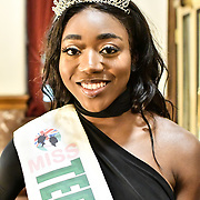 Miss Teen Nigeria UK 2019 - Anna-Marie Uzokwe attend the Mr & Miss Congo 2020,on 29th Febryary 2020 at Old Townhall,Stratford, London, UK.
