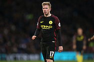 Kevin De Bruyne of Manchester City looking on.  Premier League match, Crystal Palace v Manchester city at Selhurst Park in London on Saturday 19th November 2016. pic by John Patrick Fletcher, Andrew Orchard sports photography.